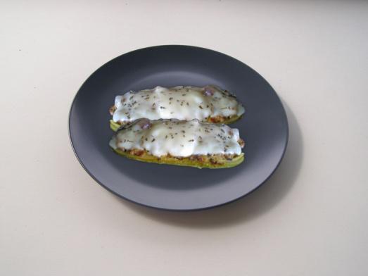 Zucchinis rellenos